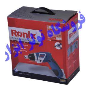 پیچ گوشتی شارژی تاشو رونیکس 8536