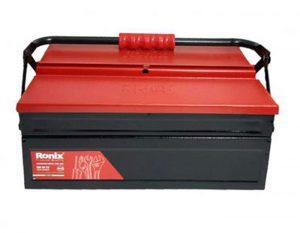 جعبه ابزار فلزی اتوماتیک 40 سانتی متر 2 طبقه RH-9172